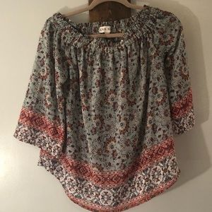 3/4 Sleeve blouse by Knox Rose size small